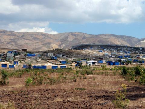 En las afueras de Puerto Príncipe